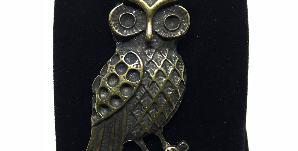 Owl Rope Necklace