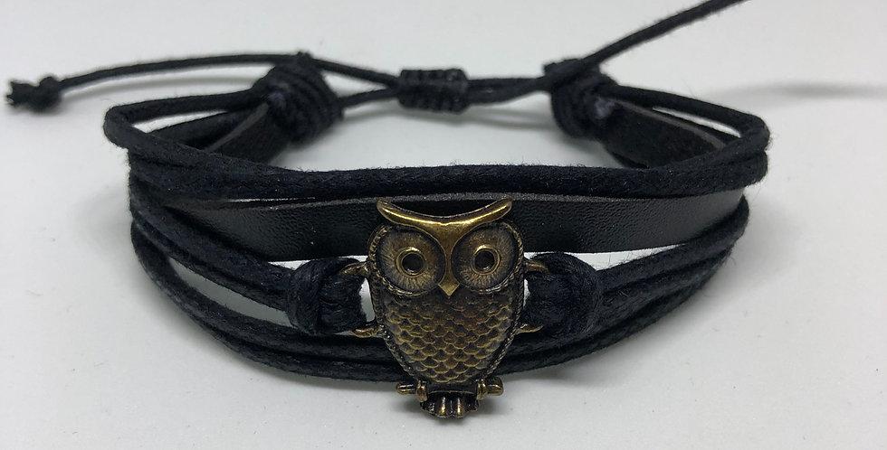 Owl Rope Bracelet