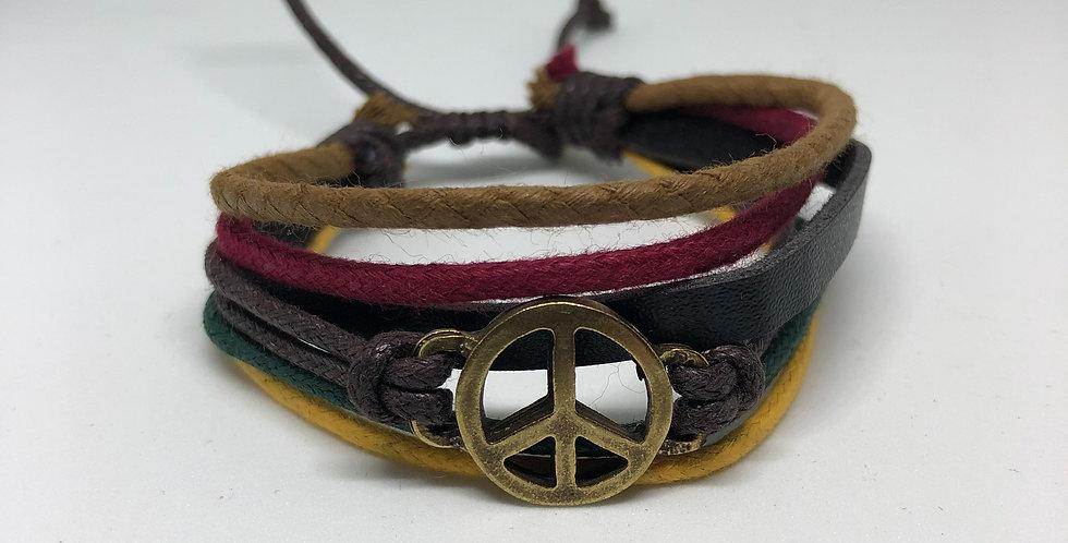 Peace Rope Bracelet