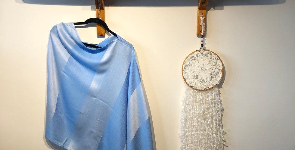 Cashmere & Silk Draped Shawl