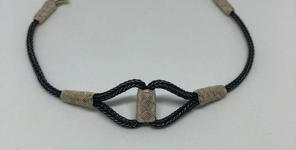 Let's Connect Pure Silver Bracelet