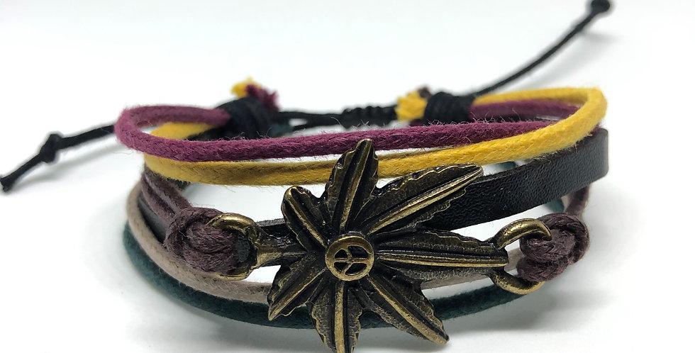 Marijuana Rope Bracelet