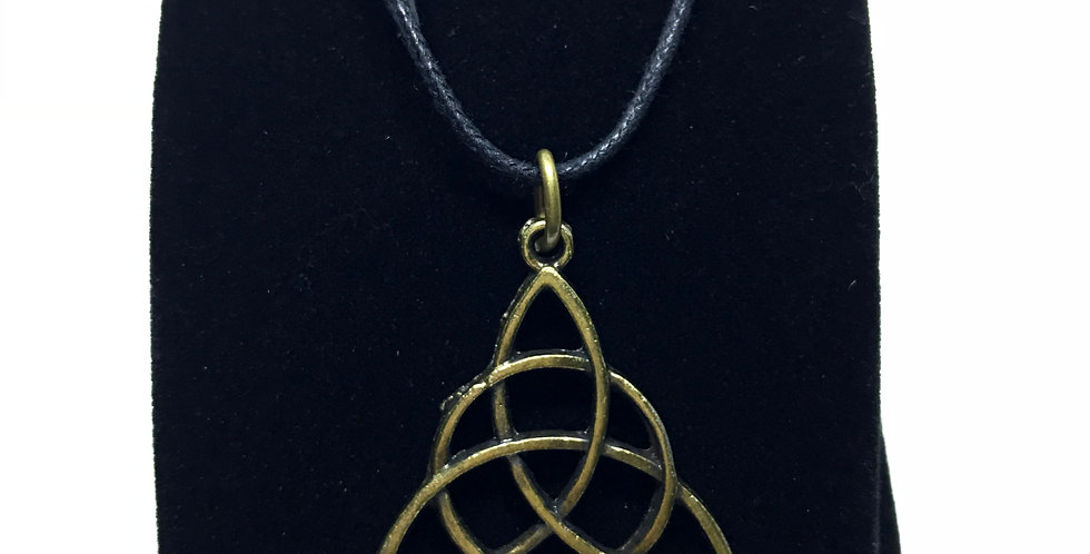 Trinity Rope Necklace