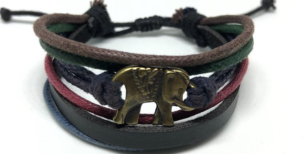 Elephant Rope Bracelet