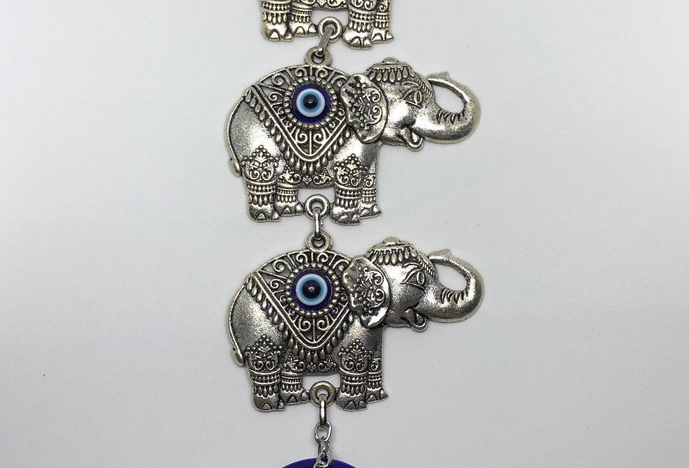 3-Happy Elephant Wall Ornament
