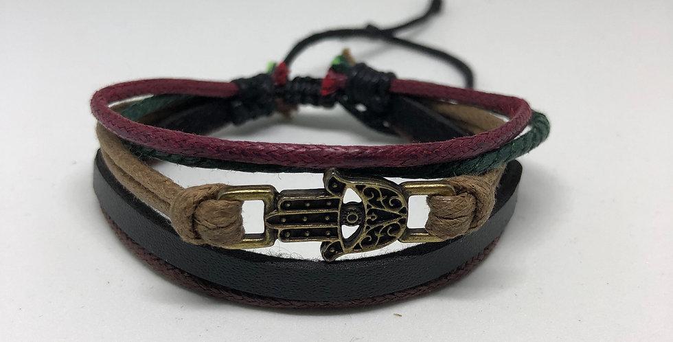 Hamsa Rope Bracelet
