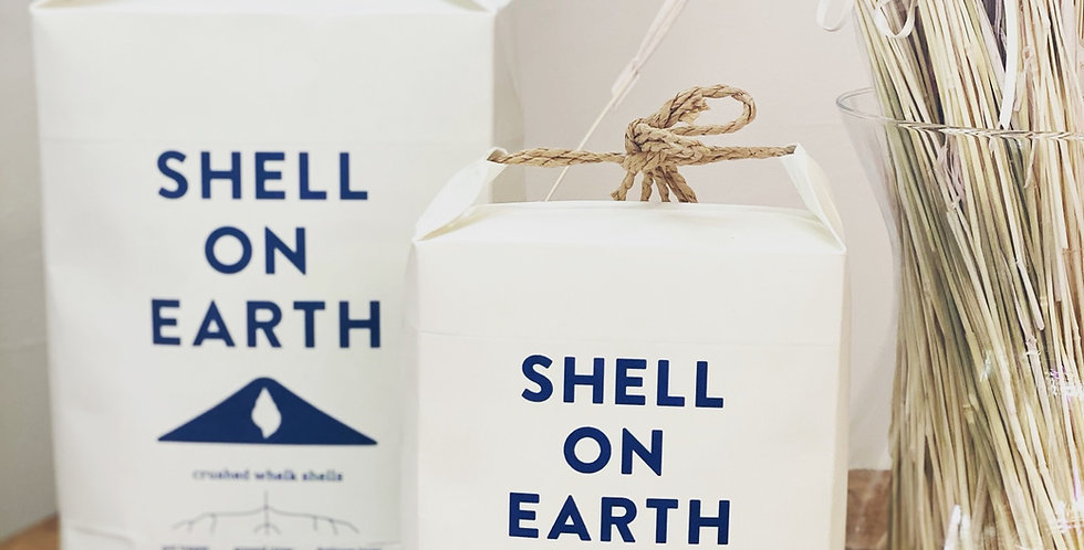 """Shell on Earth""  Crushed Whelk Shells"