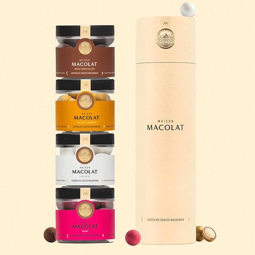 "Maison Macolat ""Luxury Belgium Chocolate Coated Macadamia"""