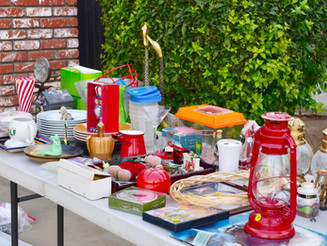 May 15th: Community-Wide Garage Sale