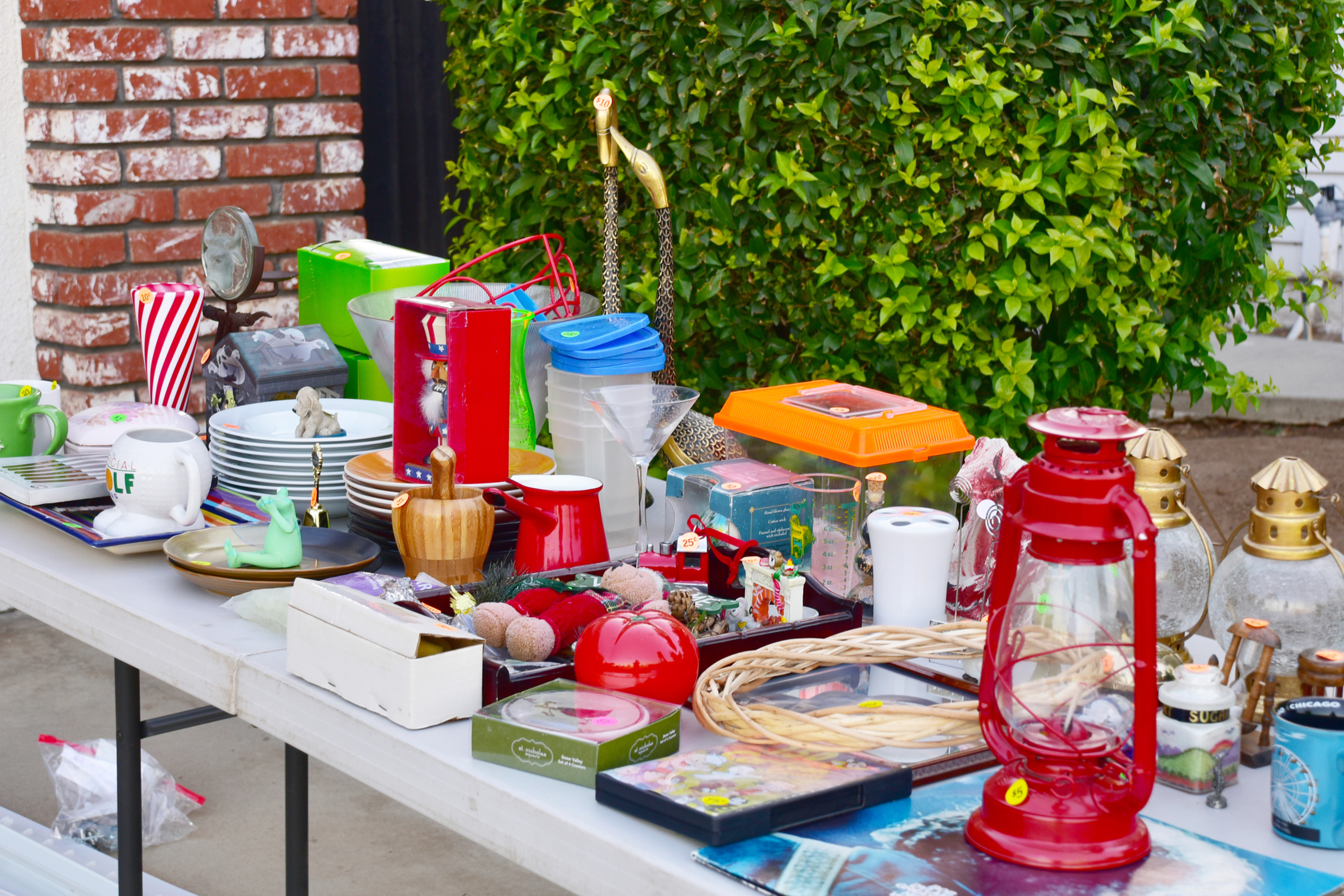Community Tag Sale Seller Space