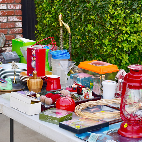 Community Garage Sale & Parade of Garage Sales