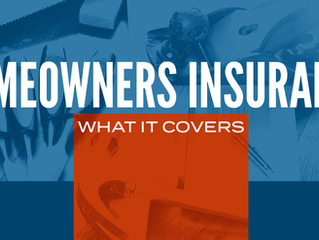 What does your homeowners insurance cover?