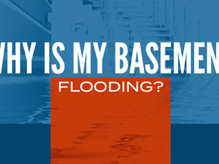 Why is my basement flooding?