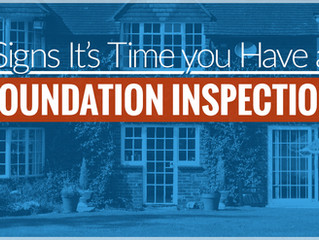 Signs It's Time You Have A Foundation Inspection