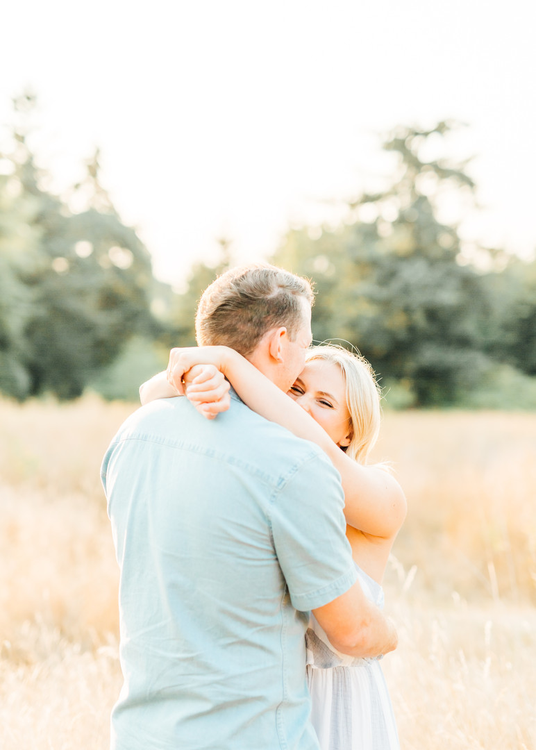 Discovery Park Engagement Session Photography-Seattle Engagement Photographers-Something Minted
