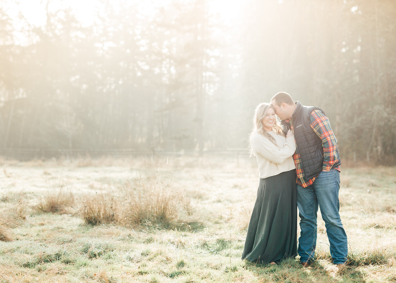 Fall Farm Engagement Session-PNW Engagement Photography Session-Something Minted