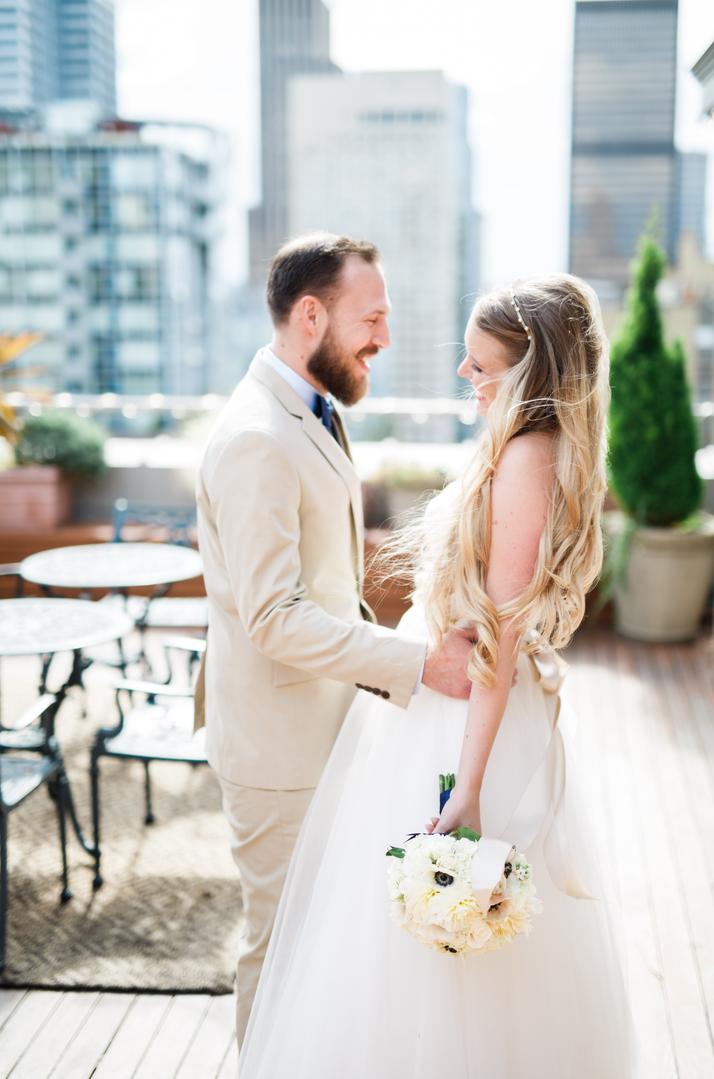 Hotel Sorrento Wedding Photographer-Something Minted