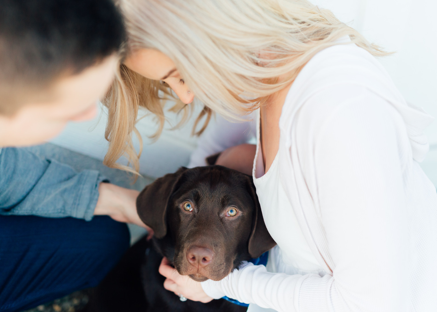 Fur Baby Engagement Session-Puyallup Farm Engagement-Something Minted