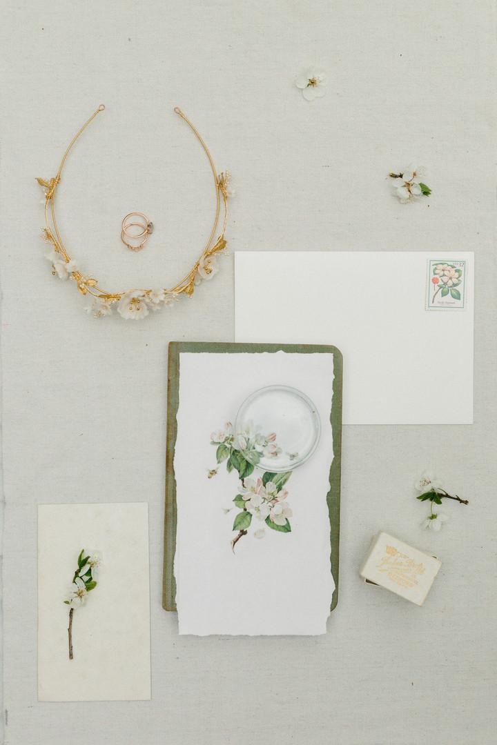 Lakewold Garden Wedding Photography-Lakewold Gardens Photographers-Garden Wedding-Styled Invitation Suite-Something Minted