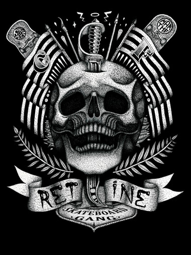 The Rétine's 10 Years Anniversary Shirt