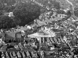 brasov aerial view