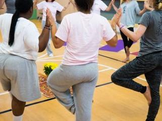 Teaching Yoga Behind Bars