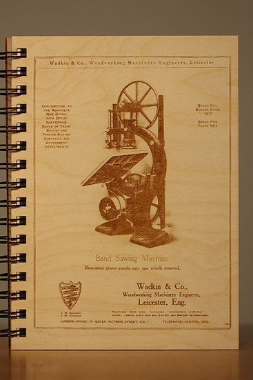 Wadkin & Co. Bandsaw Advert