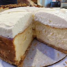Perfectly Plain Cheesecake