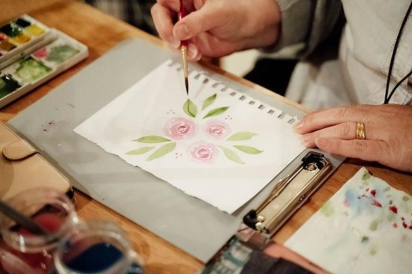 Art Classes Tasmania Ruby Tuesday Watercolour Workshops (42).jpg