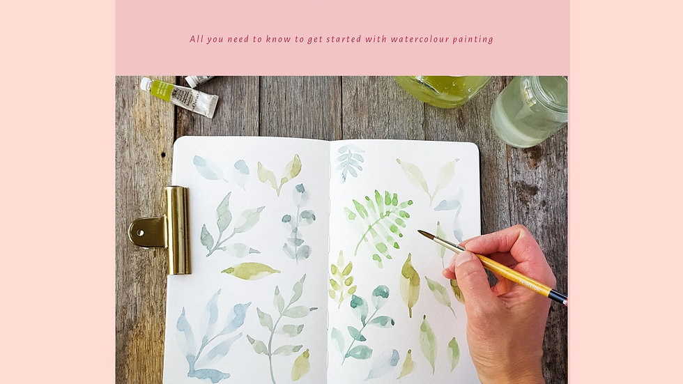 Watercolour for Beginners - PDF DOWNLOAD