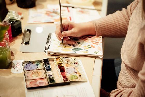 Art Classes Tasmania Ruby Tuesday Watercolour Workshops (25).jpg