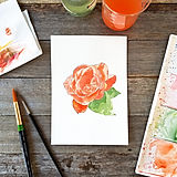 Ruby Tuesday Art Watercolour Rose.jpg