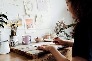 Ruby Tuesday Art Tasmanian Watercolour A