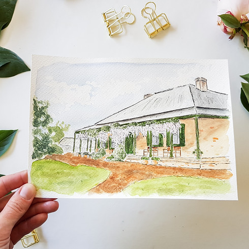 Watercolour Workshop - Illustrate your house!