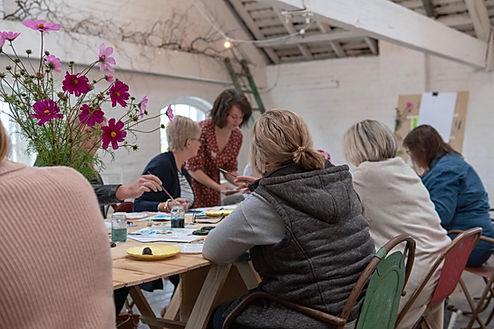 Watercolour Workshop Tasmania with Ruby