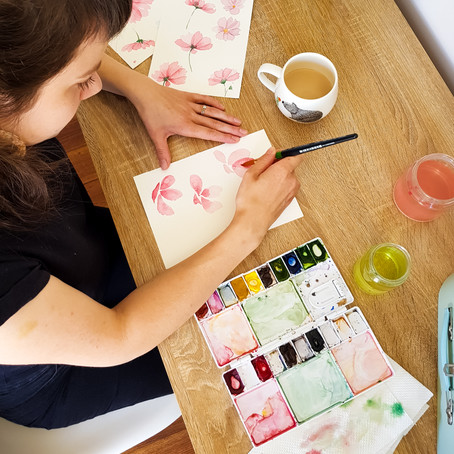 Tips for mixing watercolour paint