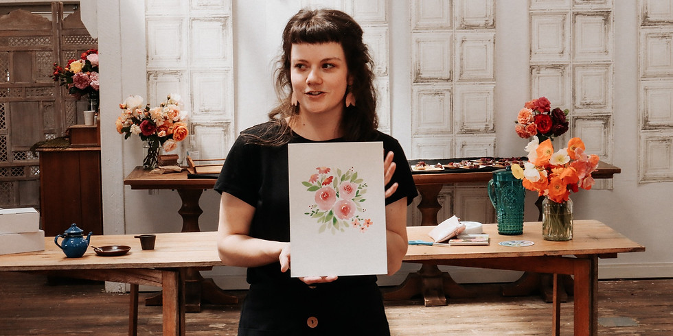 Autumn Watercolour Workshop - DELORAINE