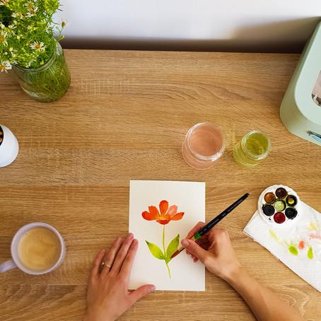 Watercolour paper is important!
