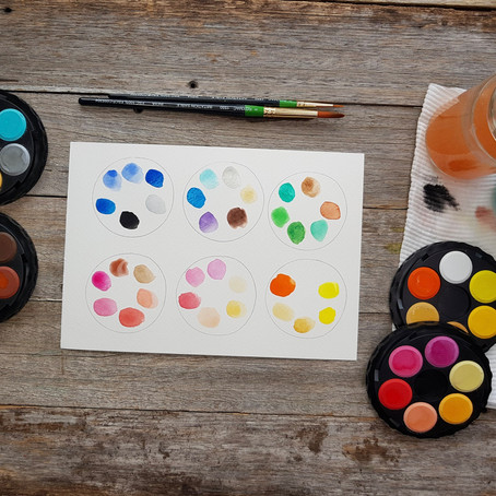 Watercolour beginners: five watercolour supplies you need to get started!