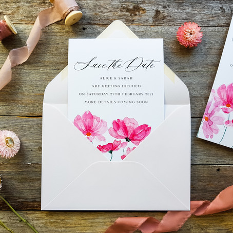 What's the process of booking a wedding stationery designer?