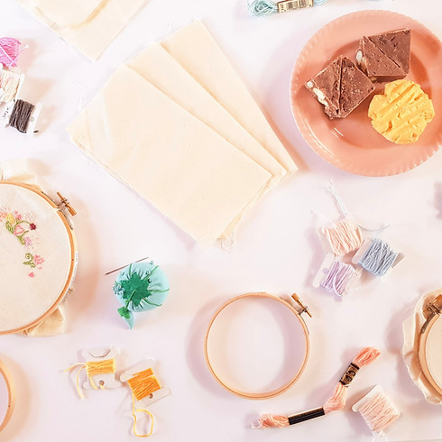 Embroidery Workshop, for beginners - LAUNCESTON (1)