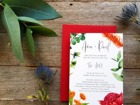 Real Wedding: Ania and Paul - Tasmanian Wedding