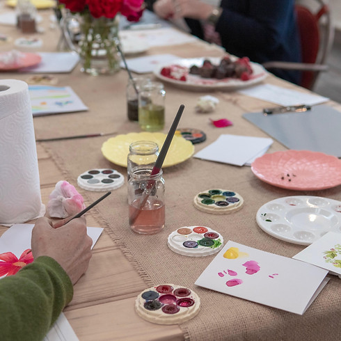 Watercolour Workshop, at Makers Nest!