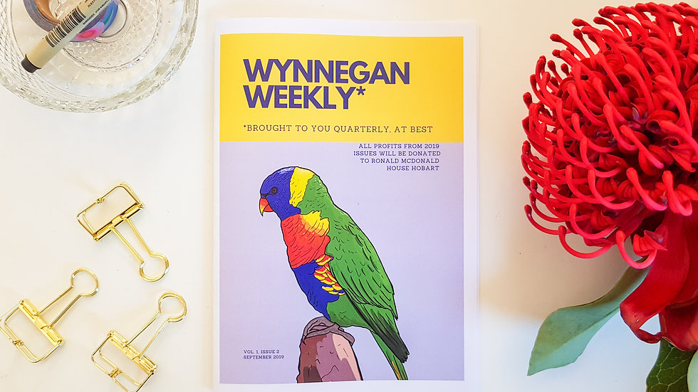 WynnEgan Weekly Vol. 1 Issue 2. - PAPER COPY