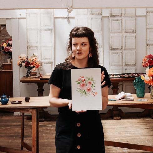 Watercolour Florals Workshop