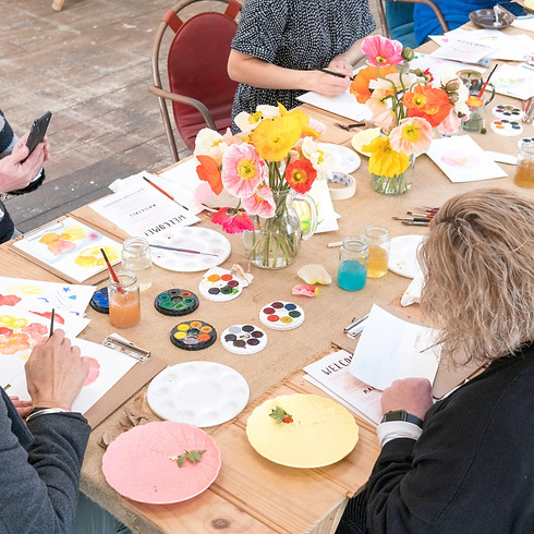 Summer Watercolour Workshop - DELORAINE