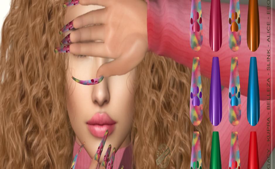 .__ SO __. - Bento Nails Mesh Ballerina Long Plush