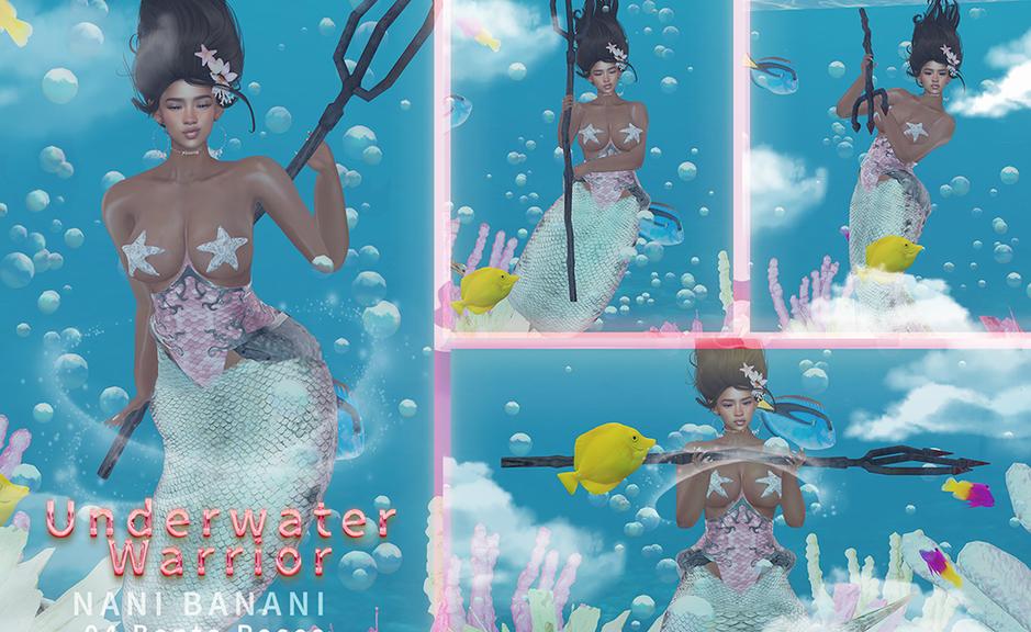 Nani Banani - underwater warrior