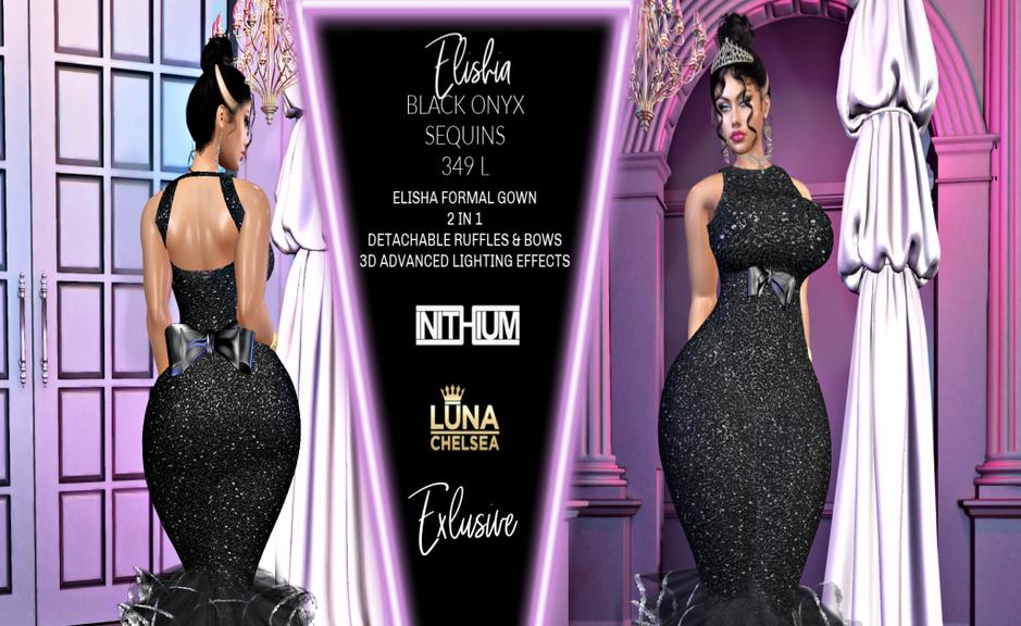 Luna Chelsea - ELISHA BLACK