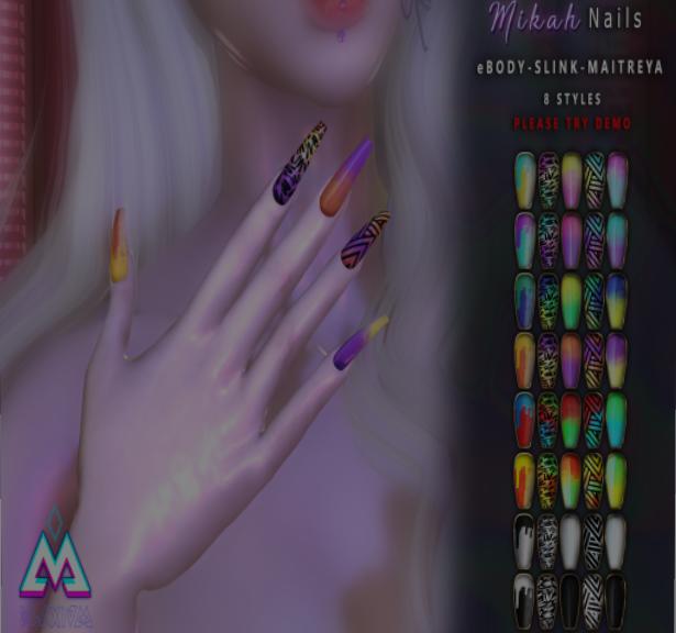 BLAXIUM - Mikah Nails